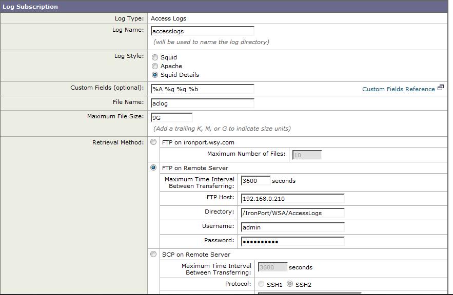 WSA Logs to syslog Server for Kibana/Logstash | Balaji Bandi